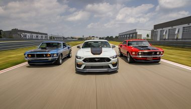 The Ford Mustang Mach 1 means performance. First in the 1960s and again now as the 5.0 that offers the most performance for the track