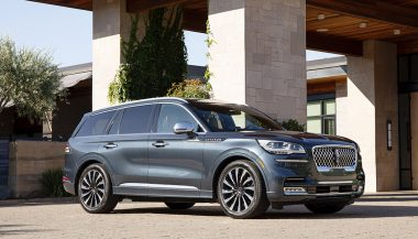 The 2020 Lincoln Aviator Grand Touring gives you a new level of domestic luxury with a plug-in powertrain that lets you float silently forward