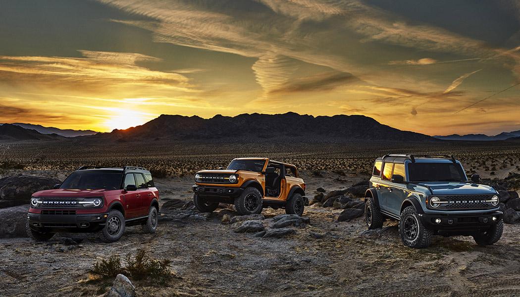 2021 Ford Bronco: Off-Road Big and Small - WheelScene