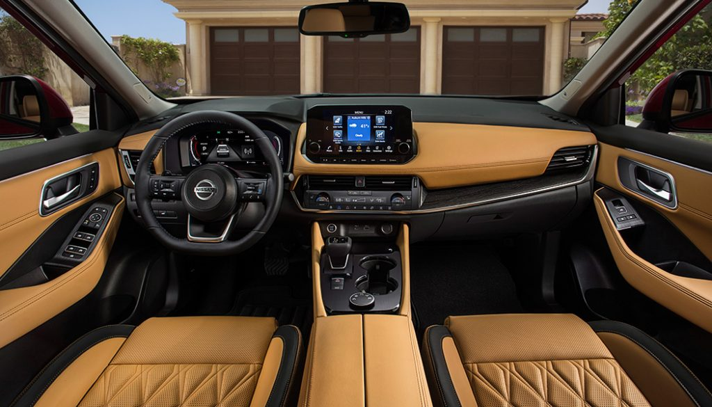 The 2021 Nissan Rogue comes in hot with loads of new tech and an available interior that'll make you think you're in something a few budget classes higher