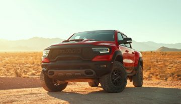 The 2021 Ram 1500 TRX is aimed firmly at the Ford Raptor, looking to take the crown for the best off-road pickup you can buy